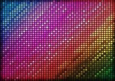 Abstract kleurrijk mozaïek Stock Afbeeldingen