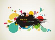 Abstract kleurrijk ontwerp vector illustratie