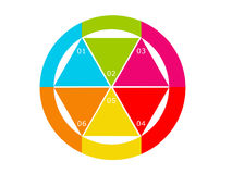 Abstract kleurrijk ontwerp Royalty-vrije Stock Foto's