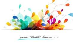 Abstract kleurrijk ontwerp als achtergrond vector illustratie