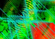 Abstract kleurrijk ontwerp als achtergrond De achtergrond van het patroon Het Ontwerp en de Giftkaarten van de groetkaart Stock Afbeelding