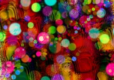 Abstract kleurrijk ontwerp als achtergrond De achtergrond van het patroon Het Ontwerp en de Giftkaarten van de groetkaart Stock Afbeeldingen