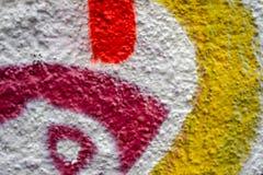 Abstract kleurrijk ontwerp als achtergrond en patroon Stock Foto's