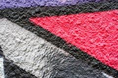 Abstract kleurrijk ontwerp als achtergrond en patroon Stock Foto
