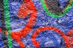 Abstract kleurrijk ontwerp als achtergrond en patroon Stock Fotografie