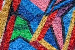 Abstract kleurrijk ontwerp als achtergrond en patroon Stock Afbeelding