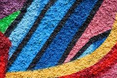 Abstract kleurrijk ontwerp als achtergrond en patroon Stock Afbeeldingen