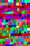 Abstract kleurrijk ontwerpkunstwerk met dynamische lagen van geometri royalty-vrije stock fotografie