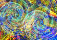 Abstract kleurrijk patroonontwerp als achtergrond Het Ontwerp en de Giftkaarten van de groetkaart Stock Fotografie