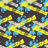 Abstract kleurrijk vector naadloos patroon stock illustratie