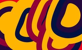 Abstract kleurrijk vectorontwerp als achtergrond Royalty-vrije Stock Fotografie