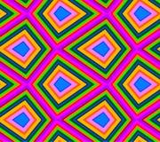 Abstract Kleurrijk vierkant Royalty-vrije Stock Afbeelding