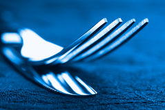 Abstract knife and fork Stock Image