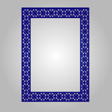 Abstract knipselpaneel voor laserknipsel, matrijzenknipsel of stencil Royalty-vrije Stock Foto