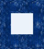 Abstract knitted frame Royalty Free Stock Images
