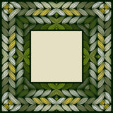 Abstract knitted frame Royalty Free Stock Photography