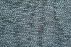 Abstract knitted texture of dark color Stock Image