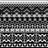 Abstract knitting pattern Royalty Free Stock Photography