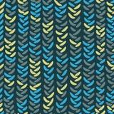 Abstract knitting seamless Stock Photo