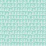 Abstract Knots Seamless Pattern Doodle Hand Drawn Texture. Abstract hand drawn doodle knots seamless pattern texture. Optimized for one click color changes. EPS8 Royalty Free Stock Photos