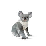 Abstract koalas isolated Royalty Free Stock Photos