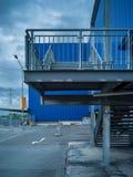 Abstract kunstelement van architectuurwarenhuis en straat Royalty-vrije Stock Foto's