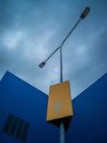 Abstract kunstelement van architectuurwarenhuis en straat Stock Afbeelding