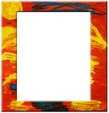 Abstract kunstframe Stock Afbeeldingen