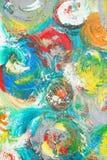 Abstract kunstwerk als achtergrond Stock Afbeeldingen
