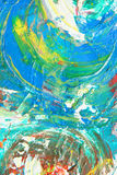 Abstract kunstwerk als achtergrond Stock Afbeelding