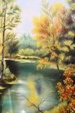 Abstract kunstwerk als achtergrond Royalty-vrije Stock Afbeelding