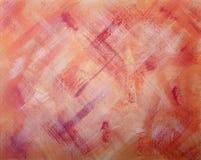Abstract Kunstwerk op Canvas Royalty-vrije Stock Foto's