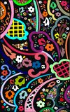abstract kwiecistego artystycznego tło Fotografia Stock