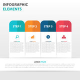 Abstract label business Infographics elements, presentation template flat design vector illustration for web design marketing Stock Photos