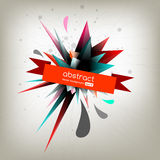 Abstract label Stock Image