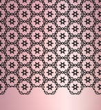 The abstract lace background Stock Photos