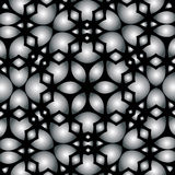Abstract lace background with gray-black design Royalty Free Stock Photo