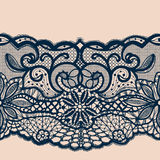 Abstract lace ornament stock illustration