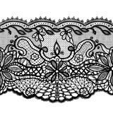 Abstract lace ornament royalty free illustration