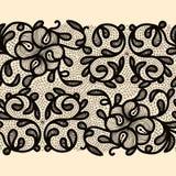 Abstract Lace Ribbon stock illustration