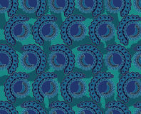 Abstract lace seamless pattern Stock Images