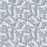 Abstract lace vector seamless pattern hand drawn stock illustration