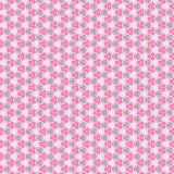 Abstract and lacy pattern, on the pink Stock Image