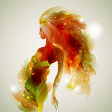 Abstract lady Stock Images