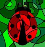 Abstract ladybug Royalty Free Stock Image