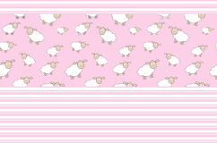 Abstract lamb background vector illustration Stock Image