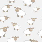 Abstract lamb seamless pattern background vector Stock Photo