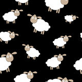 Abstract lamb seamless pattern background vector Stock Photos