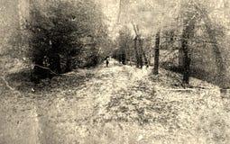 Grunge background of old photography vector illustration