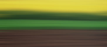 Abstract landschap Stock Fotografie